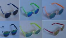 Kids Sunglasses Childrens Shades Girls Boys Coloured Mirrored Lens