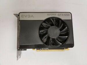 EVGA Nvidia GeForce GTX 650 1GB GDDR5 Graphics Card - Samsung Memory
