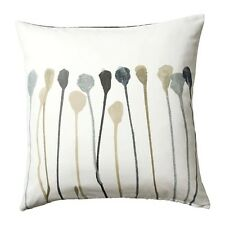 IKEA Skogsnava Cushion Cover 50x50 Grey/beige Easily Vary to LOOK Two Sides