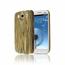 WOOD BAMBOO STYLE NATURAL PLASTIC CASE HARD BACK COVER FOR SAMSUNG GALAXY S3 III