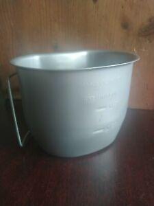 Genuine BCB Stainless Steel SILVER British Army 58 pattern Crusader Mug/ Cup NEW