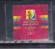 China 2007-26 FIFA China Girl World Cup Emblem , Mint