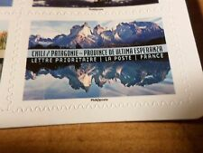 FRANCE 2017, TP PAYSAGES PATAGONIE ULTIMA ESPERANZA, neuf**, MNH STICKER STAMP