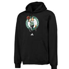 NWT Men's Adidas Boston Celtics Black Pullover Fleece Hooded Sweatshirt XL