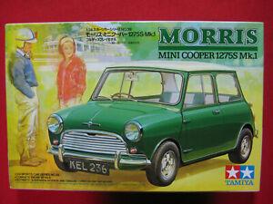 Morris Mini Cooper 1275S Mk.1 1/24 Tamiya Plastic Model Kit Classic Car Rare