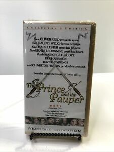 The Prince and the Pauper (1977) - VHS Tape - Action - Adventure -  Raquel Welch