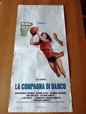 Locandina LA COMPAGNA DI BANCO 1977 Lilli Carati, Alvaro Vitali, Lino Banfi