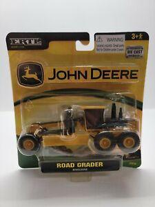 Ertl John Deere Construction Grader Plastic And Die Cast 1:64 Scale NEW