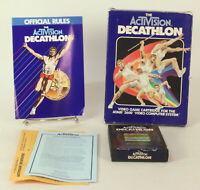 Boxed Atari 2600 game Decathlon By Activision Tested & Working