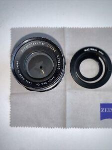 ASAHI PENTAX Super-Takumar 1:2 55mm MAN/AUTO FOCUS LENS Pentax & Nikon M42 Adapt