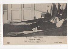 Berteaux Ministre de la Guerre Tue Mai 1911 Vintage Postcard France 416a