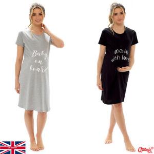 Maternity -Ladies Maternity Nightie-Maternity Nightwear-Maternity Wear