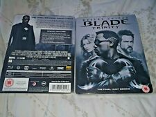 Blade Trinity Blu-Ray UK Exclusive Limited Edition Steelbook Brand New & Sealed+