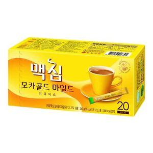 Maxim Korean Mocha Gold Mild Instant Coffee Mix 12g * 20 Sticks , korean food