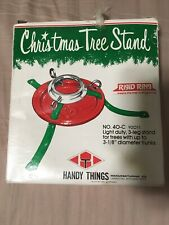 Vintage Christmas Tree Stand Handy Things No. 40-C New Old Stock