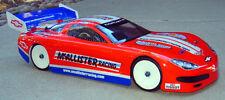 Standard 1/10 Clear RC Car Body 2003 Corvette C5 190mm wide Touring cars TC3-TC7