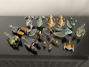 Star Wars Micro Machines episode 1 The Phantom Menace. Ships & Figures bulk lot