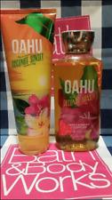 NEW Oahu Coconut Sunset Shower Gel & Body Cream Bath & Body Works Set of 2