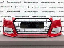 AUDI Tt Tts S Line 2015-2019 Parachoques Delantero En Rojo Negro edition Original [A675]