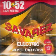 SAVAREZ  JEU DE CORDES Guitare Electric X50LM 10/52