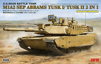 Meng Model 1:35 M1a2 Us Mbtsep Abrams Tusk I Tusk Ii 135 Sep I Mbt Tank