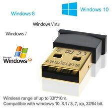 Mini USB Bluetooth CSR V4.0 Dongle Dual Mode Wireless Adapter, New