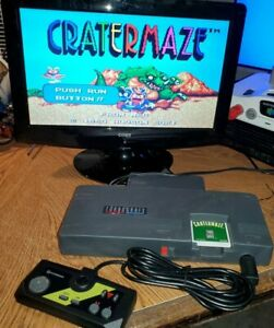 Turbo Grafx 16 NEC System With HDMI Cable for HDTV (NO GAME) REGION FREE     F1