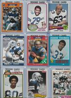 Dallas Cowboys Vintage Lot of (35) Different w/ Rookies Aikman Smith Irvin Hill