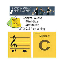 General Music Mini-On-A-Ring Laminated Music Flashcards