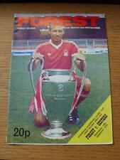 19/09/1979 Nottingham Forest v Oesters [European Cup] . No obvious faults.