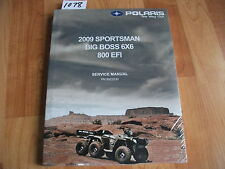 2009 POLARIS Sportsman Big Boss 800 EFI Service Manual *SEALED*