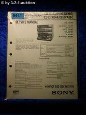 Sony Service Manual HCD D390 D790 G5500 XB33 XB44 XB50 XB60 (#6441)