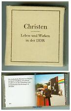 DDR GDR Minibuch Christen in der DDR Union Berlin 1985