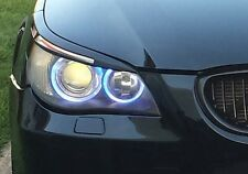 EYELIDS EYEBROWS HEADLIGHT LIGHT BROWS LIDS TRIM ABS MEAN LOOK for BMW E60 E61