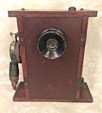 Vintage Marine/Nautical Communication Device Wood & Bakelite Case WWII Era