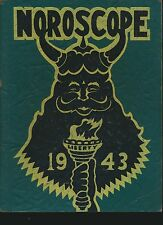 Flint MI Flint Northern High School yearbook 1943 Michigan