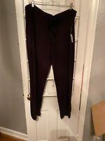 Daily Ritual Women's Cozy Knit Jogger, Black, XXL