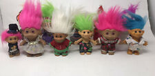 Lot Of  11 Troll Dolls/Acme/TNT/Ace Novelty/Russ/Dam/vintage/free Shipping