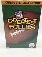 NFL Greatest Follies Complete Collection Giftset ~ 2-Disc DVD Set Volume 1 & 2