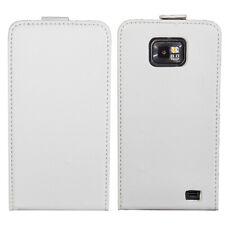 Flip Case Samsung Galaxy S2 i9100 Schutzhülle Case Cover Magnetverschluss Weiß