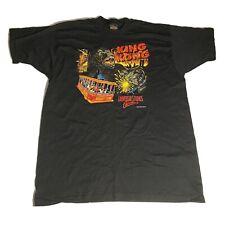 Vintage 1986 Universal Studios King Kong Black T-Shirt Mens Size 2XL XXL S/S