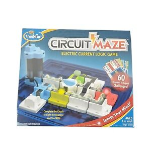 New Circuit Maze (Electric Current Logic Board Game) ThinkFun ages 8+ NEW