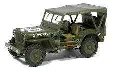 New in Box Diecast Cararama 1/43 Jeep 1/4 Ton Military Vehicle