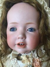 """Antique JDK Kestner HILDA 20"""" 237 Bisque Head Doll With Toddler Body"""