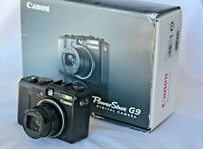 Canon PowerShot G9 12.1MP Original Box EXC+++ Fully Tested