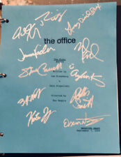 "THE OFFICE ""The Fight"" ORIGINAL studio script SIGNED by STEVE CARELL +10! w/ COA"