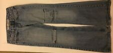 Ladies stonewash low waist ripped effect bootcut jeans by Diverse  27