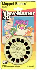 vintage Sealed view master Muppet Babies reel set Jim Henson miss piggy Kermit !