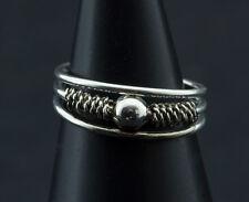 Bague de pied -bijoux d' orteil ethnika Esha ajustable en metal blanc  W94 8024