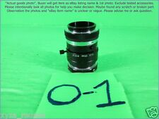 Tamron 1:1.6 25mm, Dia 25.5mm C mount lens as photo, sn:xx.